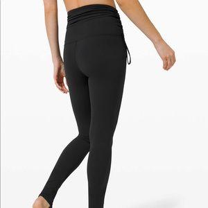 "lululemon athletica Pants & Jumpsuits - Lululemon Hug your Core High-Rise Tight 28"" Black"